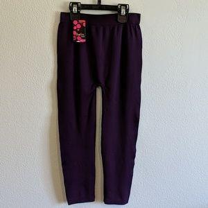 Sofra Purple leggings